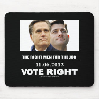 Vote Right 2012 Mouse Pad