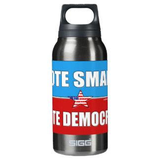 VOTE RIGHT, VOTE DEMOCRAT INSULATED WATER BOTTLE