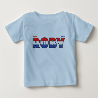 Vote Roby 2010 Elections Red White and Blue Tees