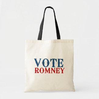 VOTE ROMNEY 2012 TOTE BAG