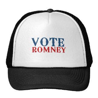 VOTE ROMNEY 2012 TRUCKER HAT