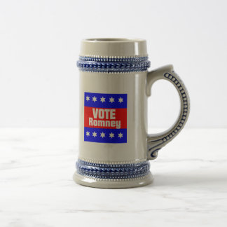 Vote Romney Beer Stein