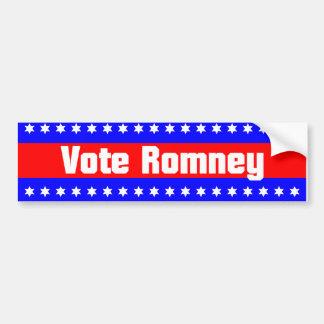 Vote Romney Bumper Sticker
