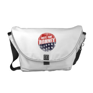 VOTE ROMNEY BUTTON.png Courier Bags