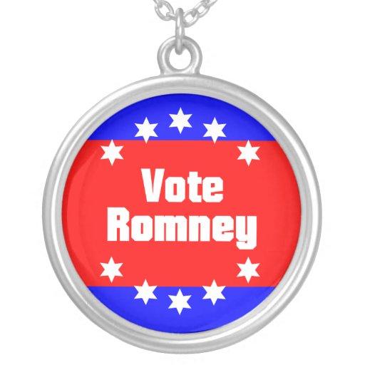 Vote Romney Custom Jewelry