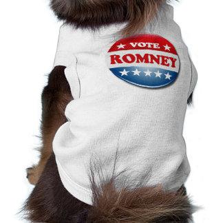 VOTE ROMNEY DOG T SHIRT