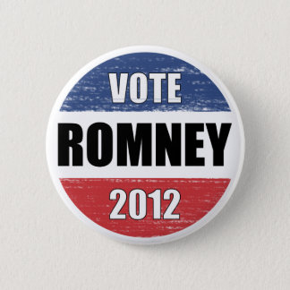 Vote Romney for President 2012 Pinback Button