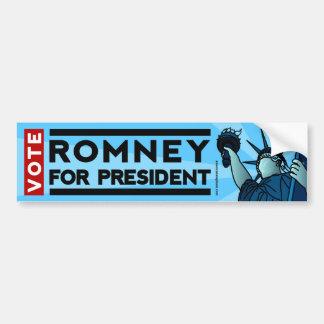 Vote Romney for President Liberty Bumper Sticker Car Bumper Sticker