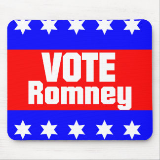 Vote Romney Mouse Pad