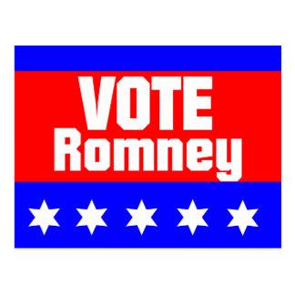 Vote Romney Postcard