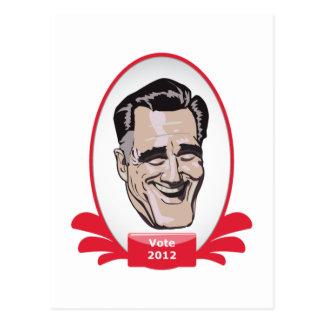 Vote Romney Presidential Sushi Postcard