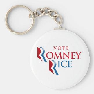 VOTE ROMNEY RICE VP BELIEVE png Key Chain