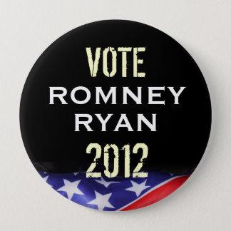 Vote Romney Ryan 2012 Campaign Button