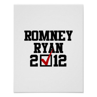 VOTE ROMNEY RYAN 2012 POSTER