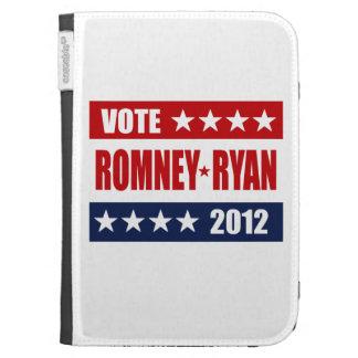 VOTE ROMNEY RYAN 2012 SIGN KINDLE CASE