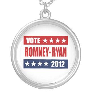 VOTE ROMNEY RYAN 2012 SIGN CUSTOM JEWELRY
