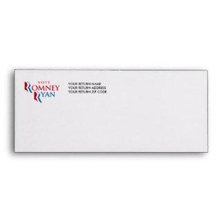 VOTE ROMNEY RYAN AMERICA ENVELOPES