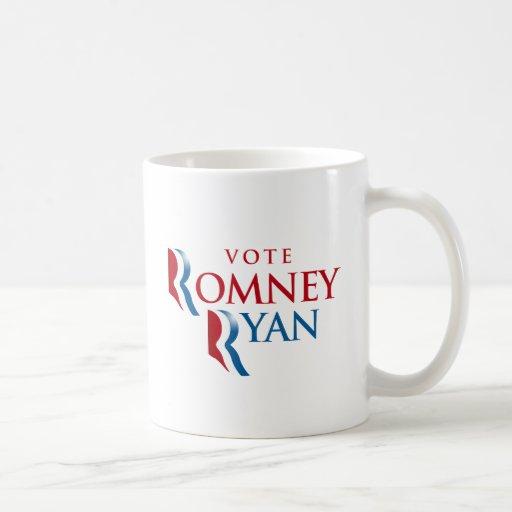 VOTE ROMNEY RYAN AMERICA MUGS