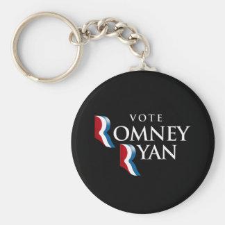 VOTE ROMNEY RYAN AMERICA - png Keychain