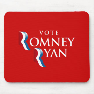 VOTE ROMNEY RYAN AMERICA -.png Mouse Pad