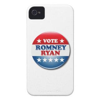 VOTE ROMNEY RYAN VP ROUND.png Case-Mate iPhone 4 Cases