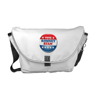 VOTE ROMNEY RYAN VP ROUND png Courier Bags