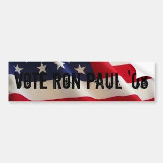 VOTE RON PAUL '08 bumper sticker