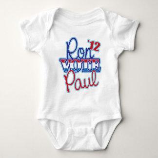 Vote Ron Paul '12 Baby Bodysuit