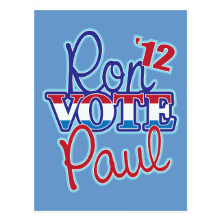 Vote Ron Paul '12 Postcard
