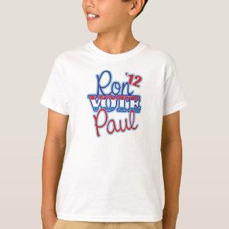 Vote Ron Paul '12 T-Shirt