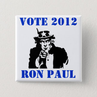 VOTE RON PAUL 2012 BUTTON