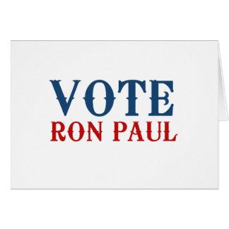 VOTE RON PAUL 2012 CARDS