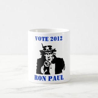 VOTE RON PAUL 2012 COFFEE MUG