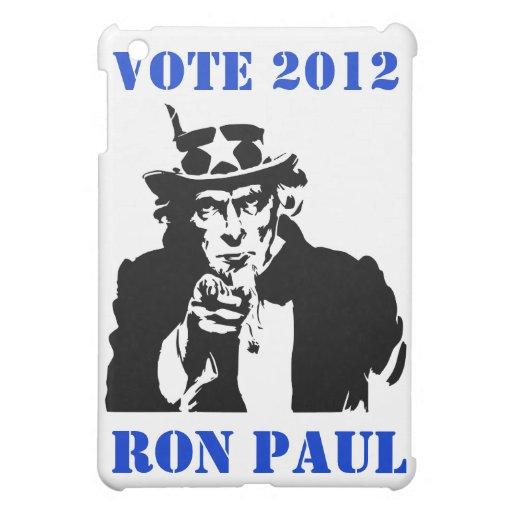VOTE RON PAUL 2012 iPad MINI COVER
