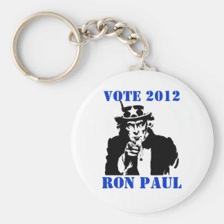 VOTE RON PAUL 2012 KEYCHAINS