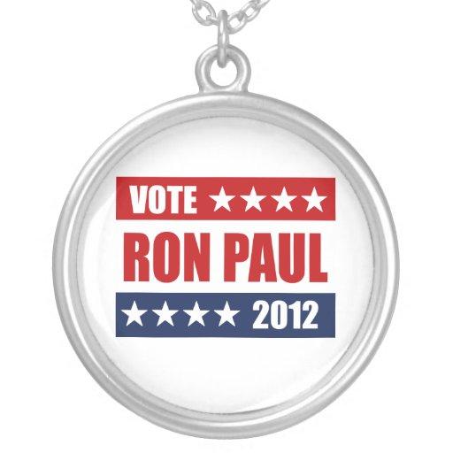 VOTE RON PAUL 2012 - NECKLACE