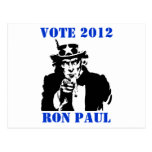 VOTE RON PAUL 2012 POST CARDS
