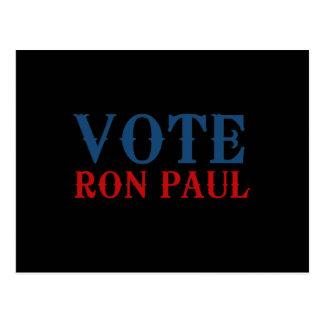 VOTE RON PAUL 2012 POSTCARDS