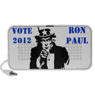 VOTE RON PAUL 2012 MINI SPEAKER