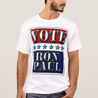 Vote Ron Paul 2012 - t-shirt