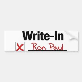 VOTE RON PAUL BUMPER STICKER