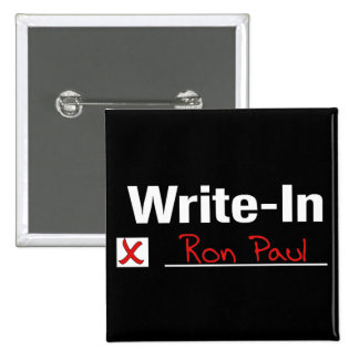 VOTE RON PAUL BUTTON