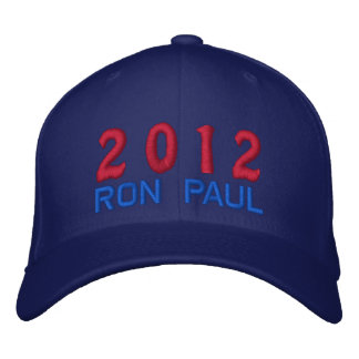 Vote Ron Paul for President 2012 Election Embroidered Baseball Hat