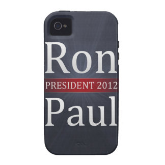 Vote Ron Paul for President in 2012 iPhone 4/4S Covers