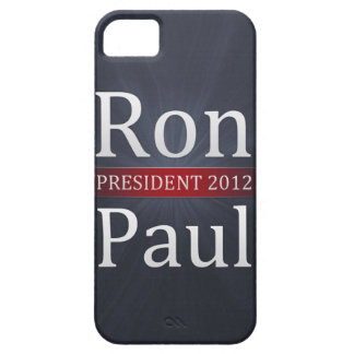 Vote Ron Paul for President in 2012 iPhone 5 Covers