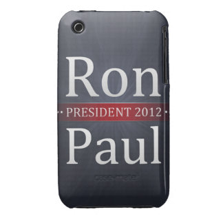 Vote Ron Paul for President in 2012 iPhone 3 Case-Mate Case