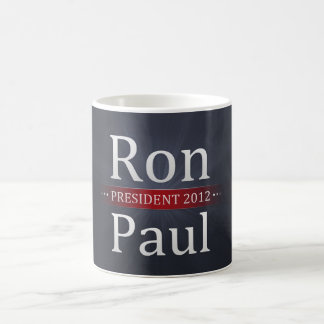 Vote Ron Paul for President in 2012 Mugs