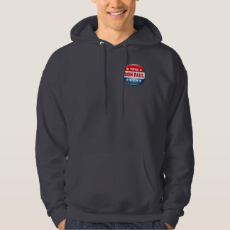 VOTE RON PAUL HOODED PULLOVER
