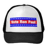 Vote Ron Paul Mesh Hats