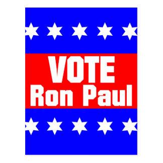 Vote Ron Paul Postcard
